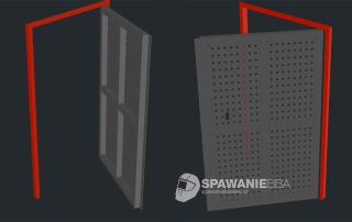 Konstrukcja stalowa drzwi na wymiar