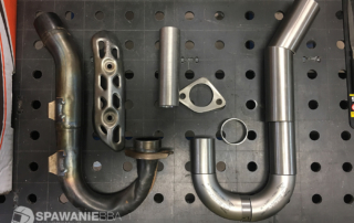 Kolanko wydechowe KXF250 - odbudowa oraz modyfikacja