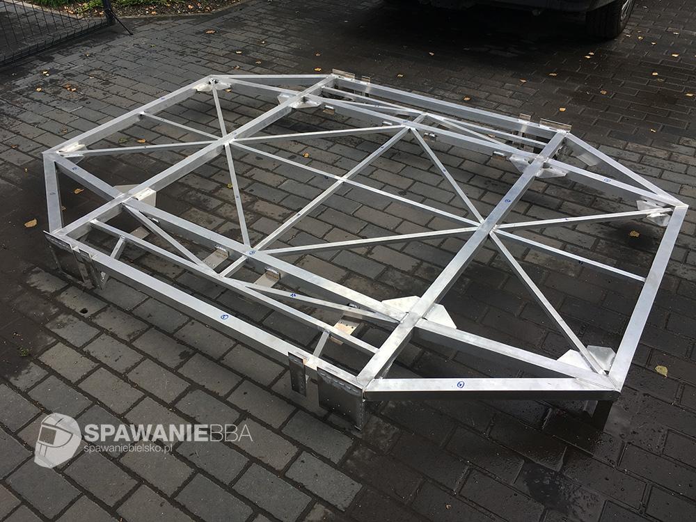 Aluminiowa konstrukcja dla robota
