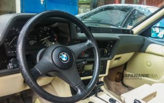 Spawanie / reanimacja wydechu w BMW 635 CSi