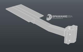 PANCERNY aluminiowy uchwyt na bagażnik rowerowy :)
