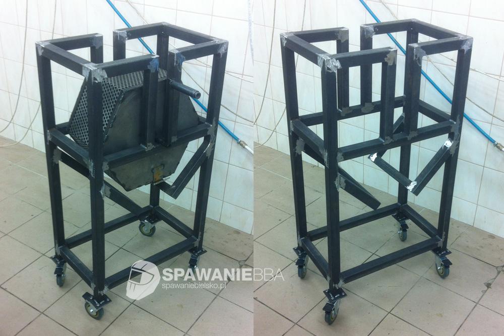 Sito mechaniczne dla wyrobów z pras mimośrodowych