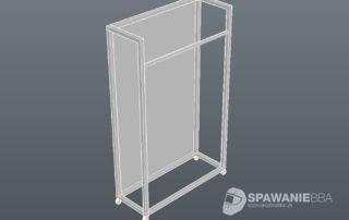 Aluminiowe wieszaki wystawowe