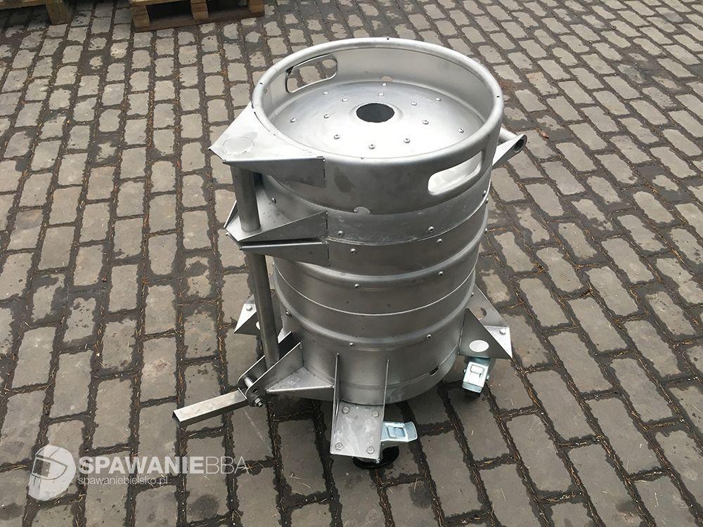 Piec do przetopu i odlewania aluminium - piec odlewniczy